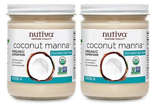 51cW3nK0y5L - Nutiva Organic Coconut Manna, 15-Ounce (Pack of 2)