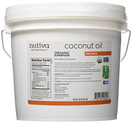 51sctK P1mL - Nutiva Coconut Oil