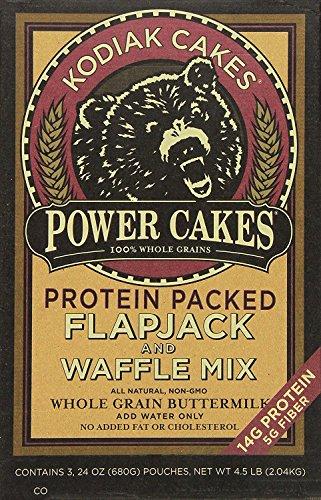 610WFst8kiL - Kodiak Cakes Power Cakes Flapjack and Waffle Mix Whole Grain Buttermilk