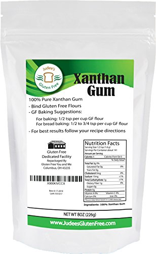 419CRhDPj0L - 8 Oz Gluten Free Xanthan Gum